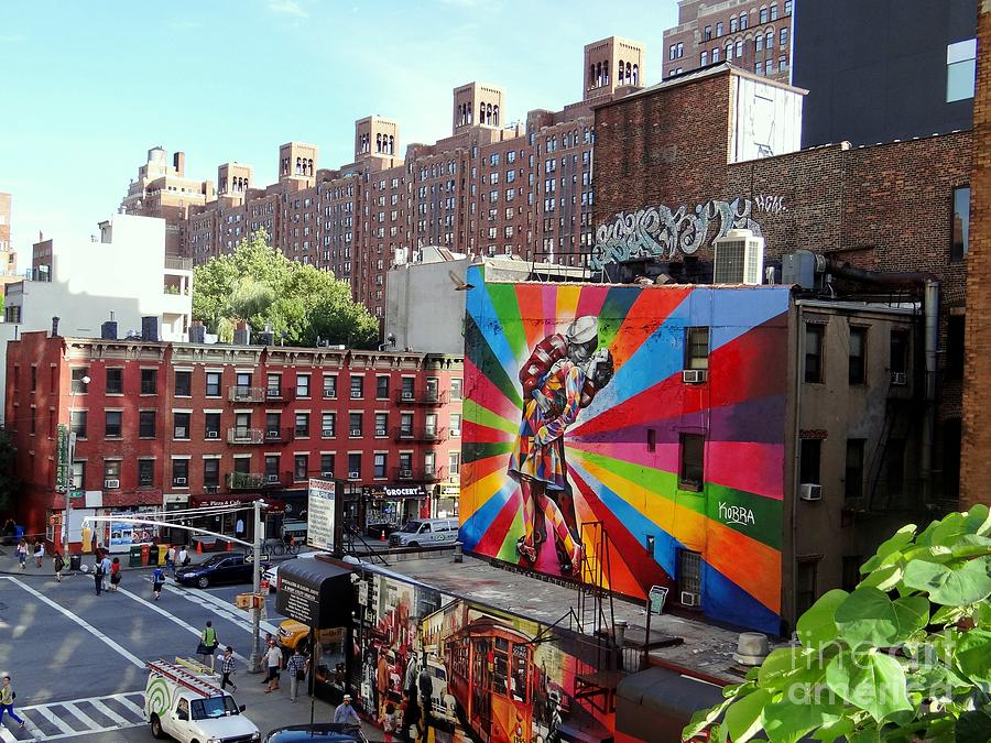 New York City Photograph - View From The Highline by Ed Weidman