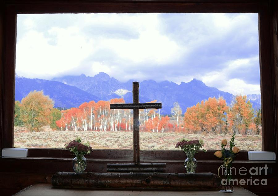 Grand Teton Photograph - View From The Inside by Kathleen Struckle