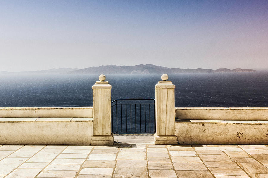 View From Tinos Photograph by Photography Of Beauty And Mystery