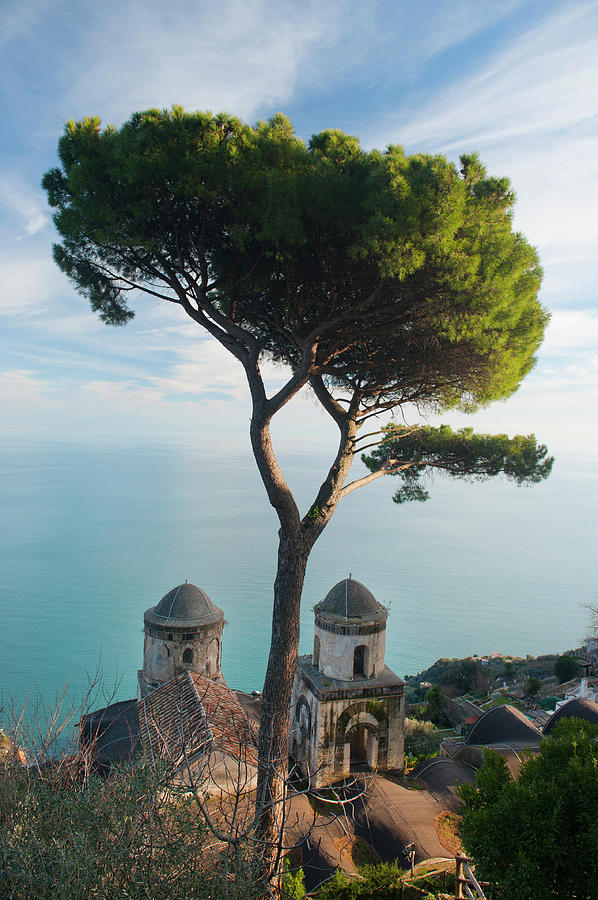 View From Villa Rufolo Photograph by Christopher Groenhout
