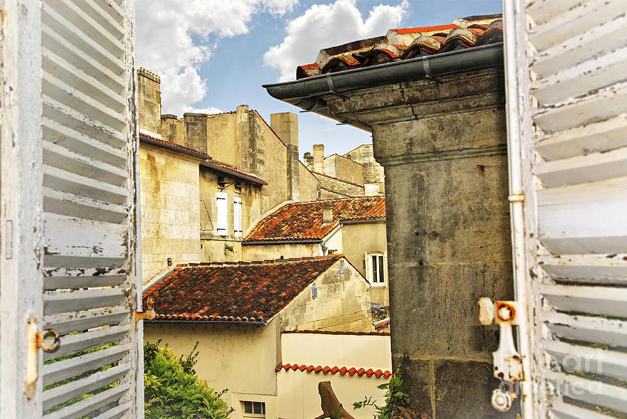 Cognac Photograph - View In Cognac by Elena Elisseeva