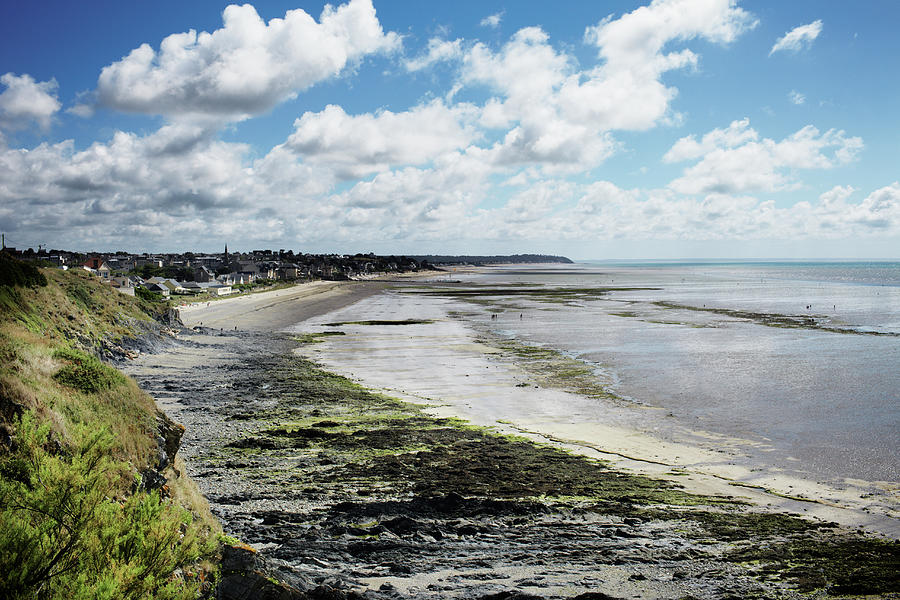 View Of Beach During Low Tide In Photograph by Silvia Otte