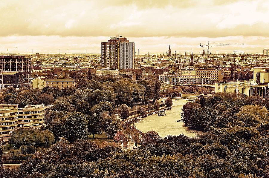 Autumn Photograph - View Of Berlin by Gynt