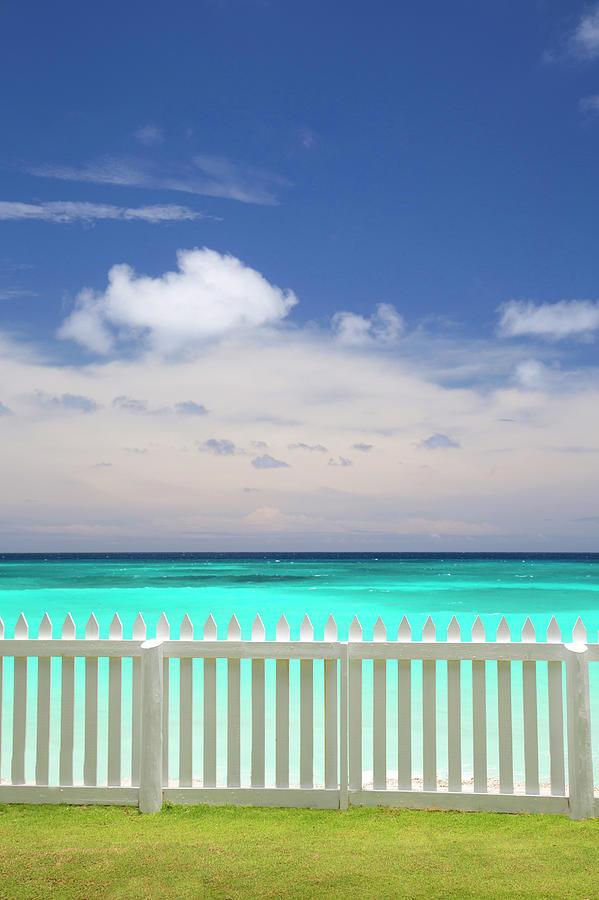 View Of Caribbean Sea Photograph by Grant Faint