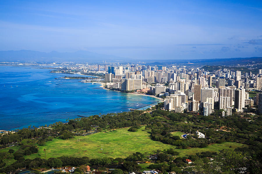 View of downtown Honolulu by Ami Parikh