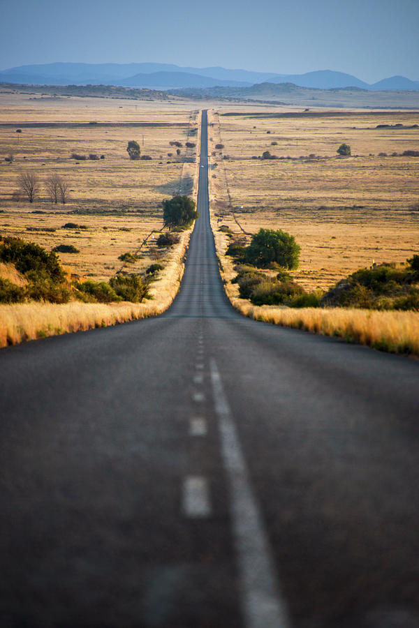 View Of Empty Road, Free State, South Photograph by Jacques Marais