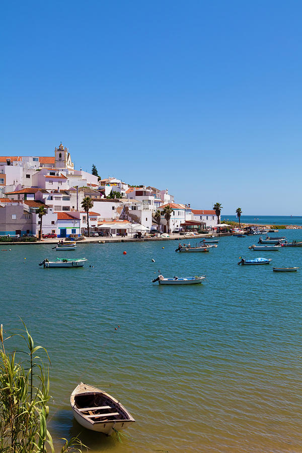 View Of Ferragudo, Algarve, Portugal Photograph by Werner Dieterich