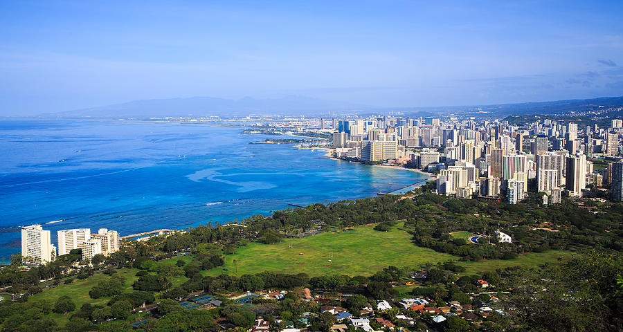 View of Honolulu by Ami Parikh