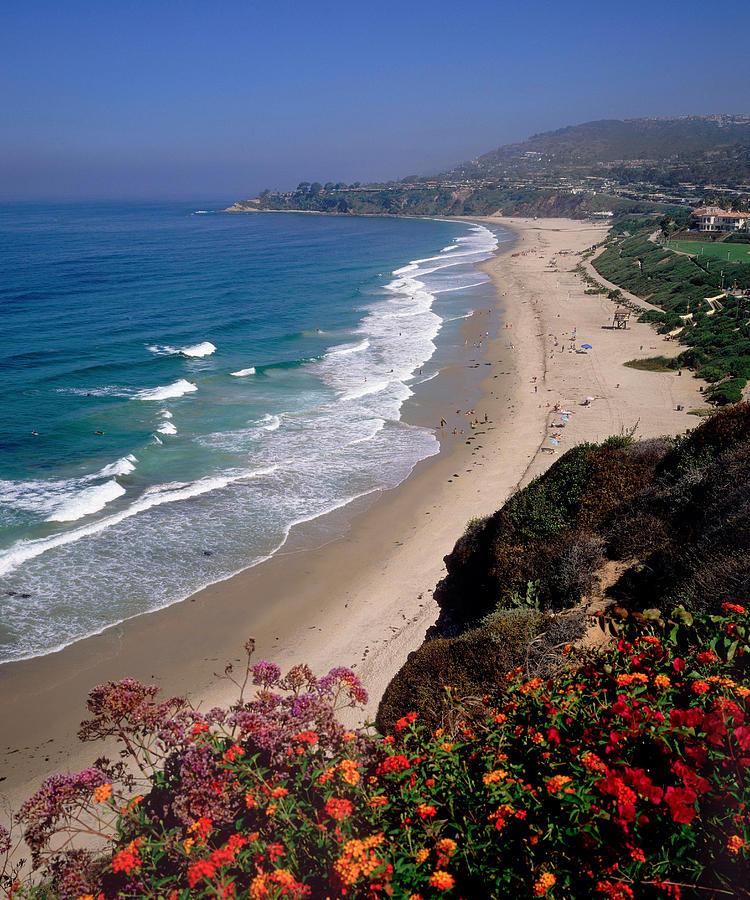 Seascape Photograph - View Of Salt Creek Beach by Cliff Wassmann