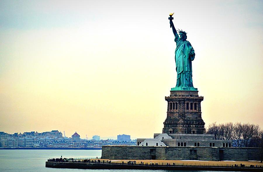 View Of Statue Of Liberty Photograph by Nicolas Daumas / Eyeem