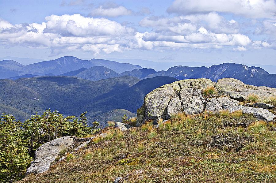 View of The Great Range from Algonquin by David Seguin
