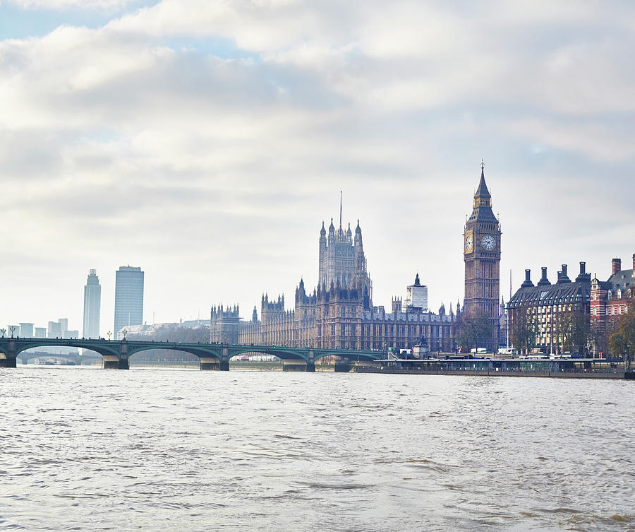 View Of The Houses Of Parliament And Photograph by Frank And Helena