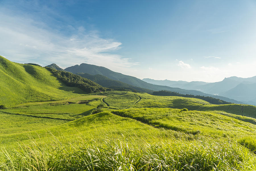 View Of The Plateau,soni Kougen In Japan Photograph by Yagi-Studio