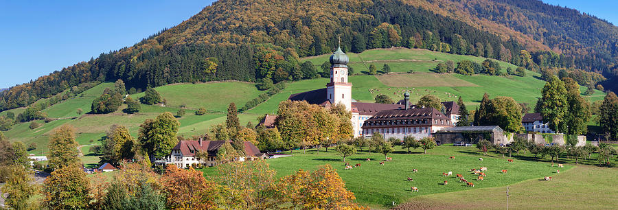Color Image Photograph - View Of The St. Trudperts Abbey by Panoramic Images