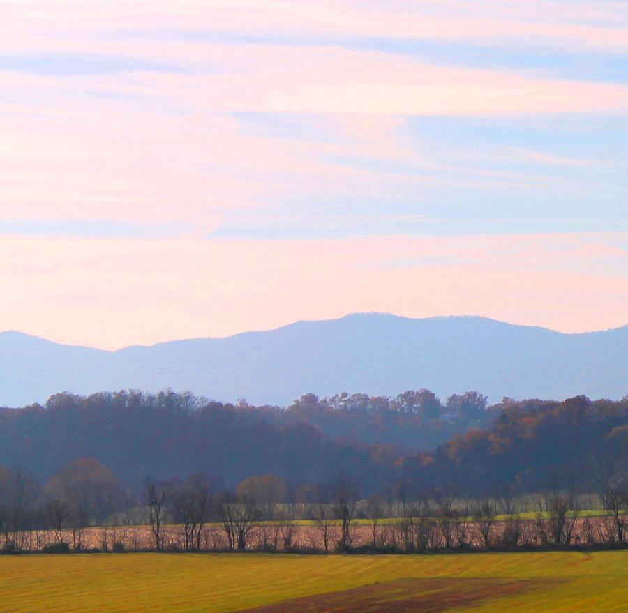Mountains Photograph - View of the Valley by Candice Trimble