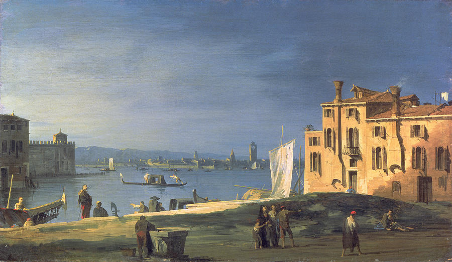 Landscape Painting - View Of Venice by Canaletto