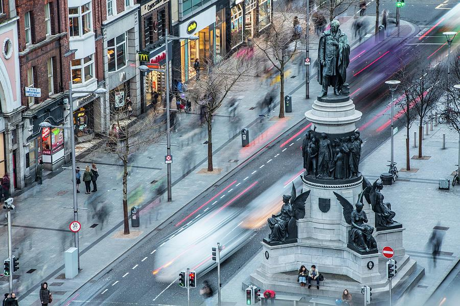 Viewpoint Over Oconnell Street, Dublin Photograph by David Soanes Photography