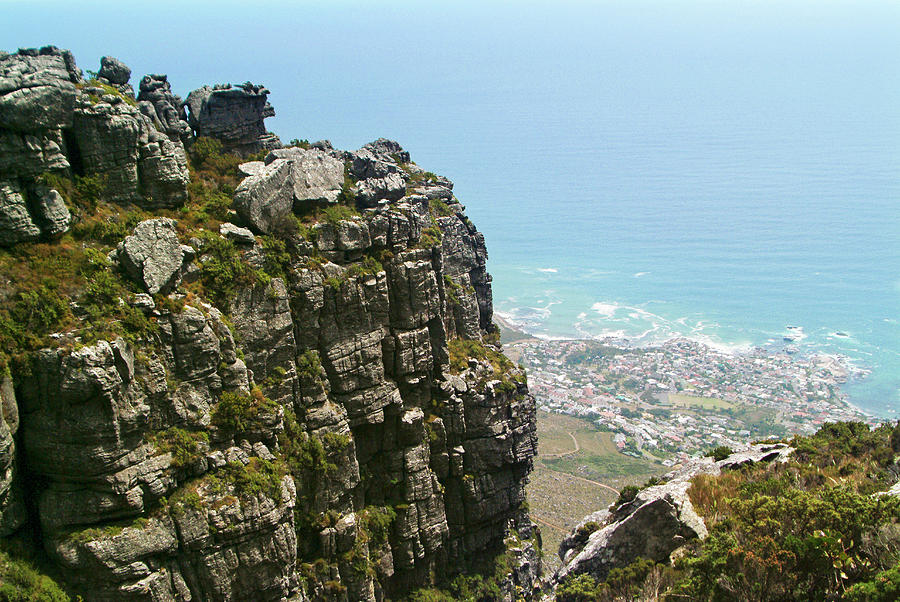 Day Photograph - Views From Table Mountain And The Coast by Leslie Parrott