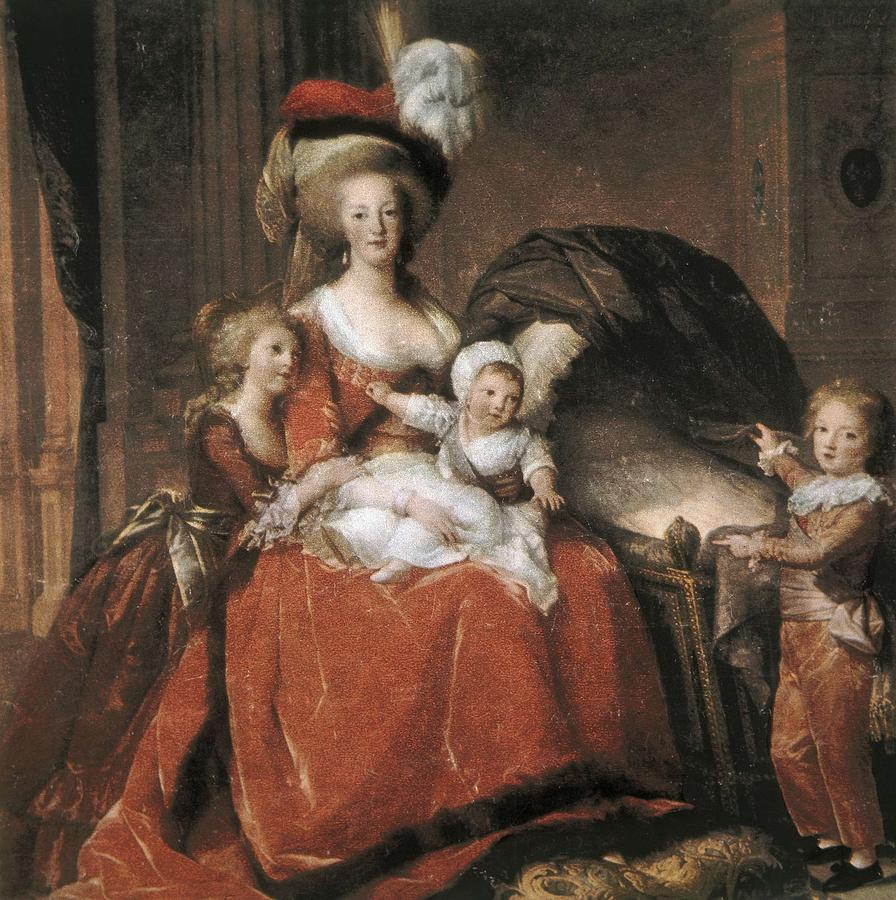 Square Photograph - Vigee-lebrun, Elisabeth 1755-1842 by Everett