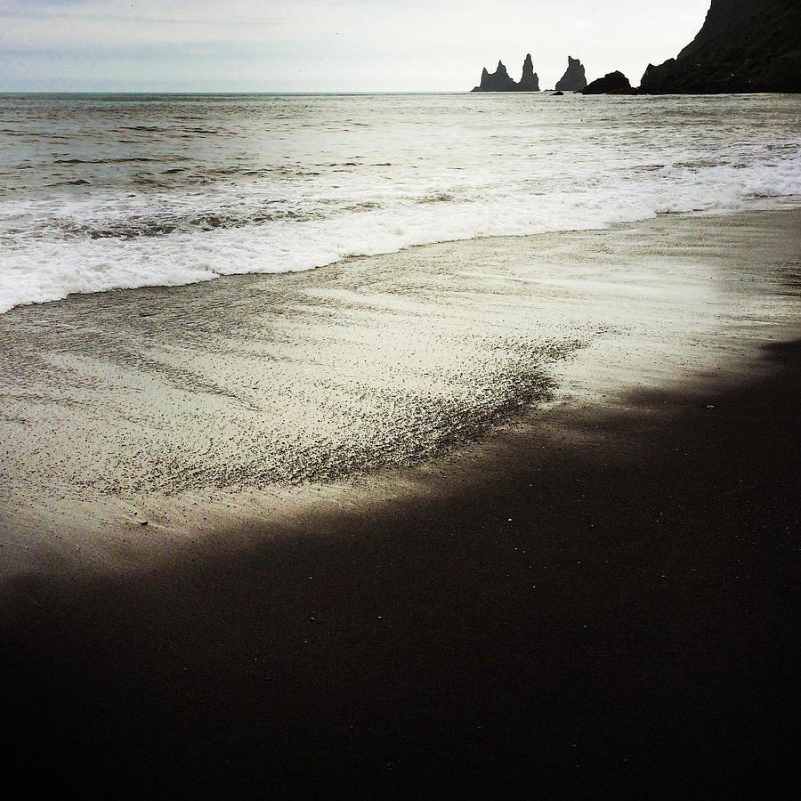 Vik Photograph - Vik Reynisdrangar Basalt Sea Stacks Iceland by Matthias Hauser