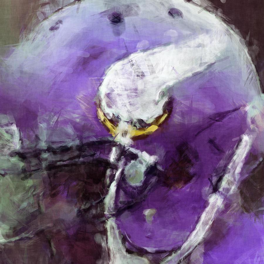 Vikings Art Abstract