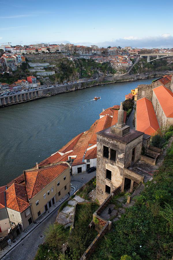 Porto Photograph - Vila Nova De Gaia And Porto In Portugal by Artur Bogacki