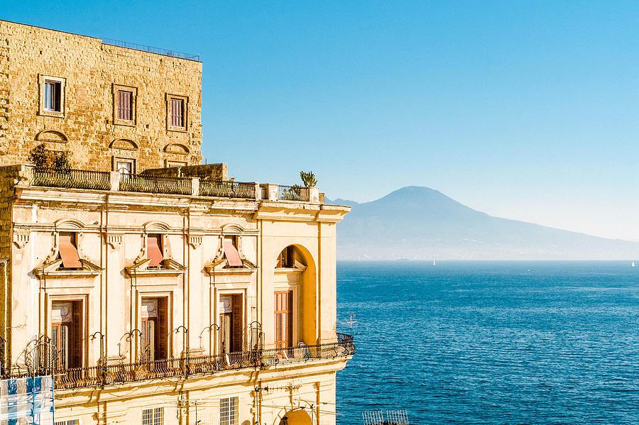 Villa Donnanna, Bay Of Naples, Italy Photograph by Angelafoto