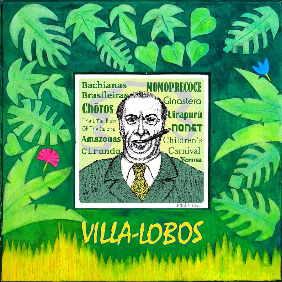 Villa-lobos Drawing - Villa-lobos by Paul Helm