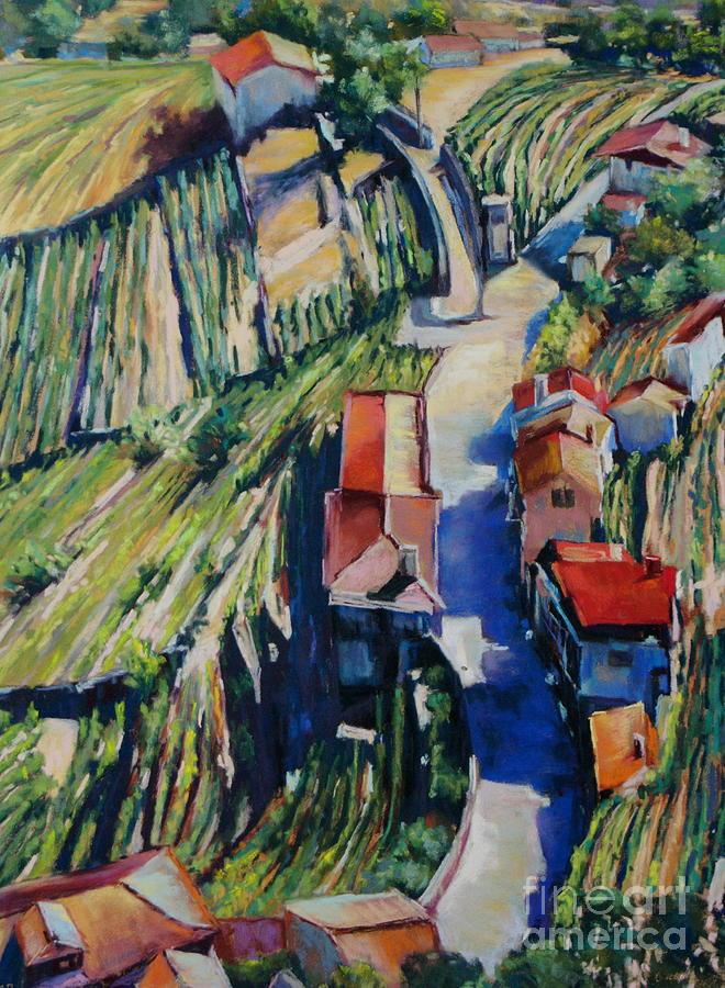 Vineyards Painting - Villa Real by Virginia Dauth