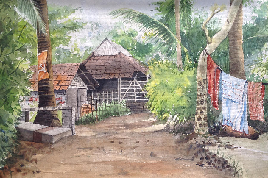 Village Home Near Kona West Bengal India