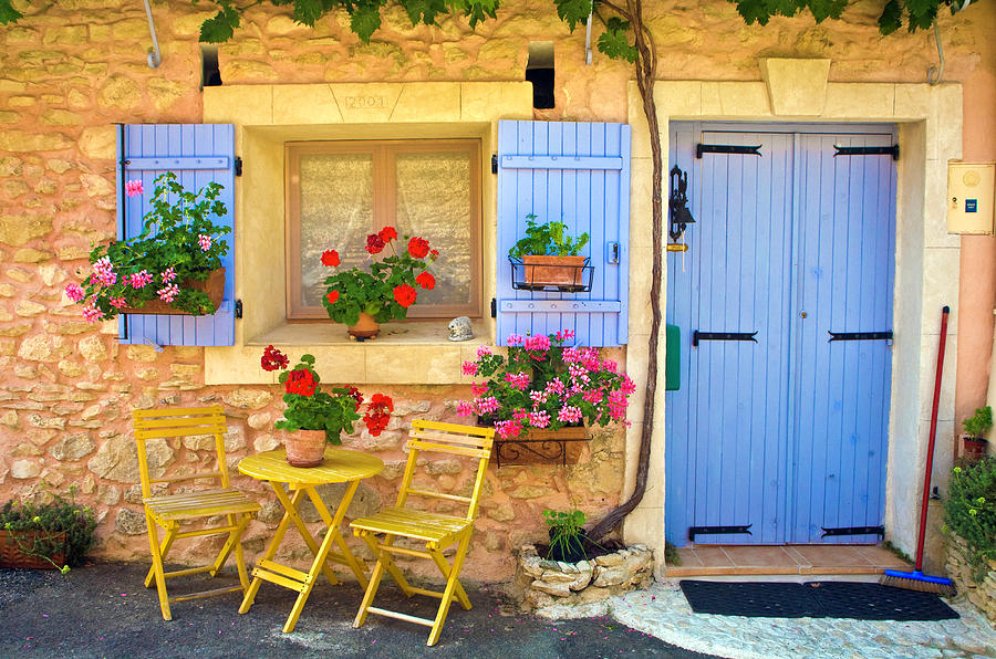 Village House In The Tiny Luberon Photograph by Barbara Van Zanten