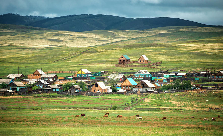Village In Siberia Photograph by Nutexzles