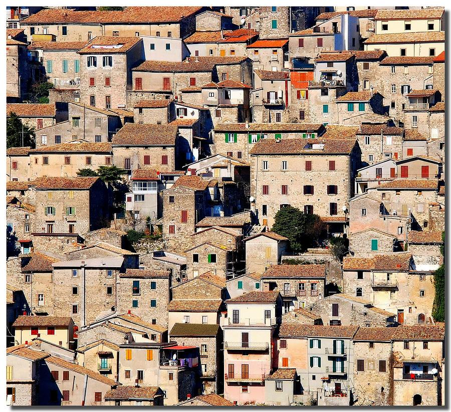 Village Puzzle Photograph by Nespyxel