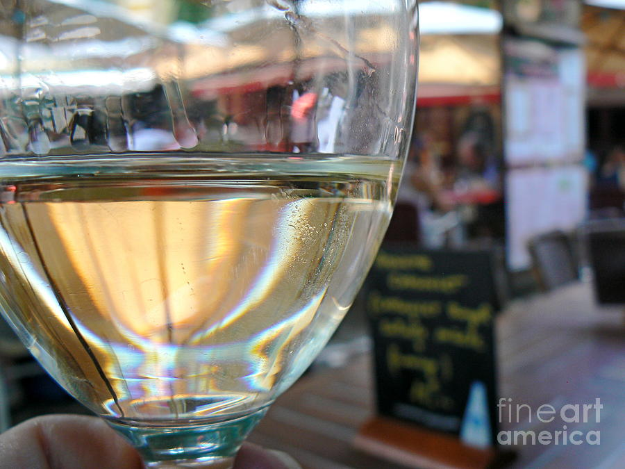 Wine Photograph - Vin Blanc by France  Art
