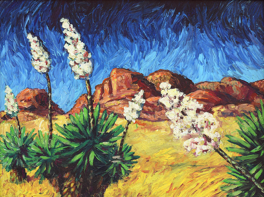 Van Gogh Painting - Vincent In Arizona by James W Johnson