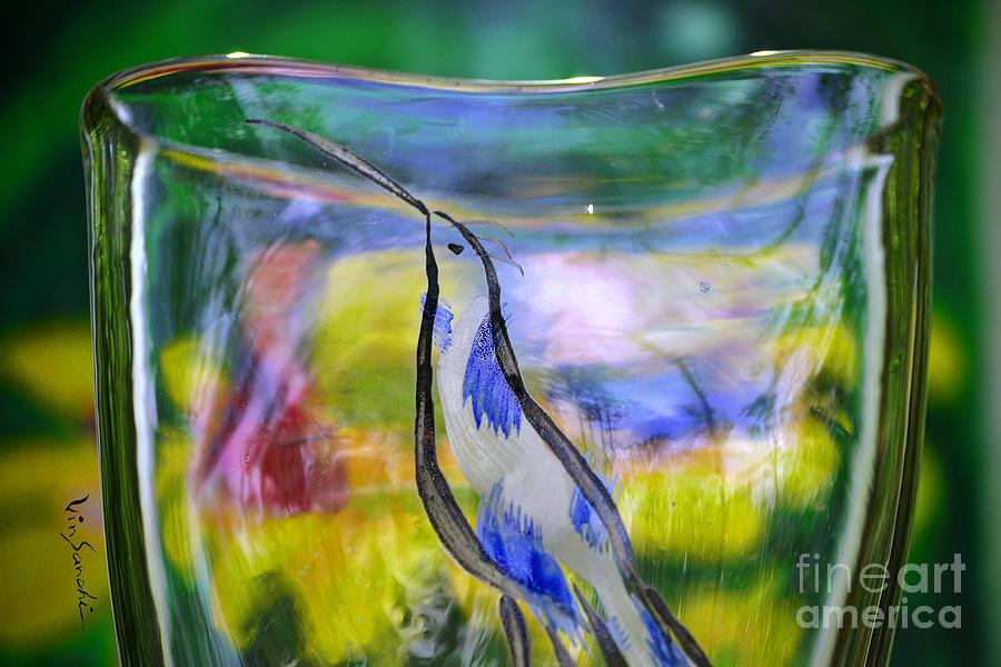 Nature Glass Art - Vinsanchi Glass Art-1 by Vin Kitayama