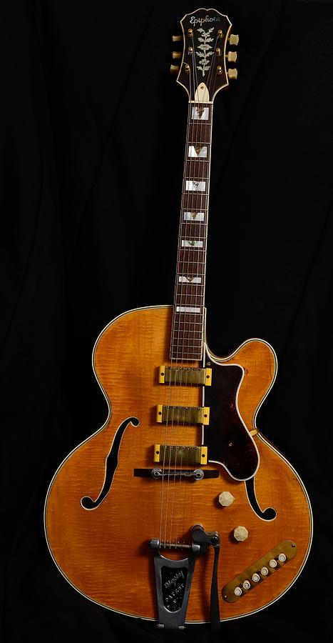 vintage 1952 Epiphone Zephyr Emperor Guitar by Photo Advocate
