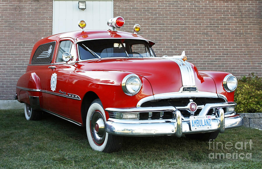 Vintage Ambulance Photograph by Inspired Nature Photography Fine ...