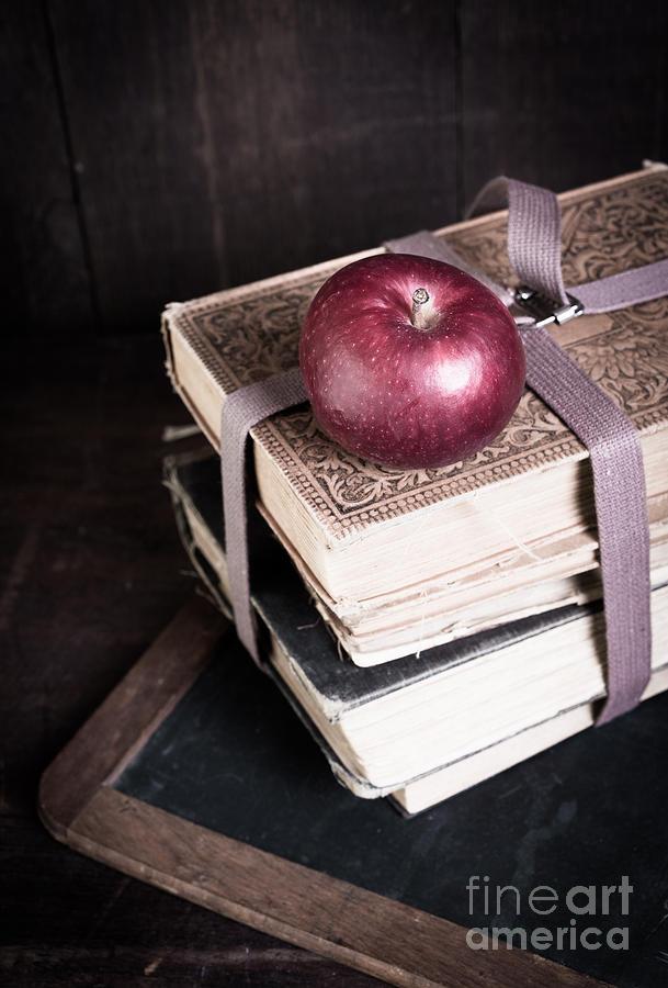 School Photograph - Vintage Back To School by Edward Fielding
