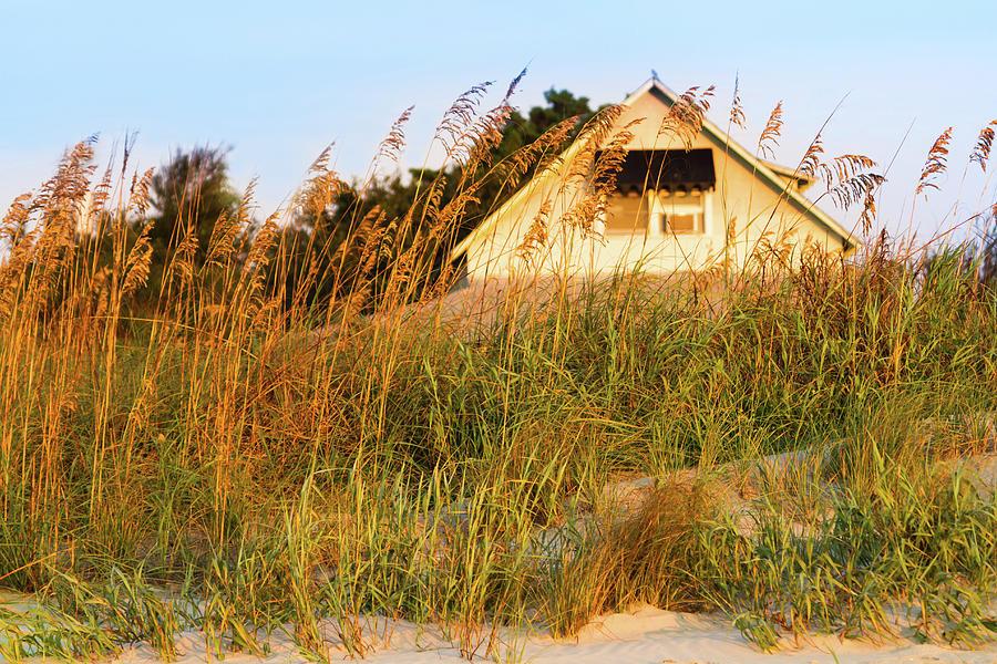 Vintage Beach Cottage, Pawleys Island Photograph by Hiramtom