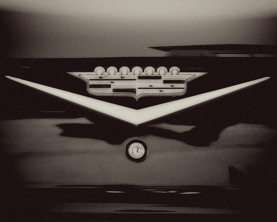 Vintage Cadillac Emblem Photograph By Lisa Russo