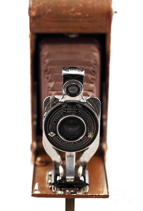 Vintage Camera Photograph - Vintage Camera by John Rizzuto