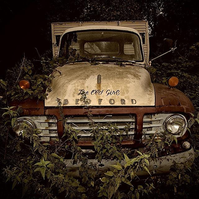 Bedford Photograph - #vintage #car #truck #classic #bedford by Lsl Studios
