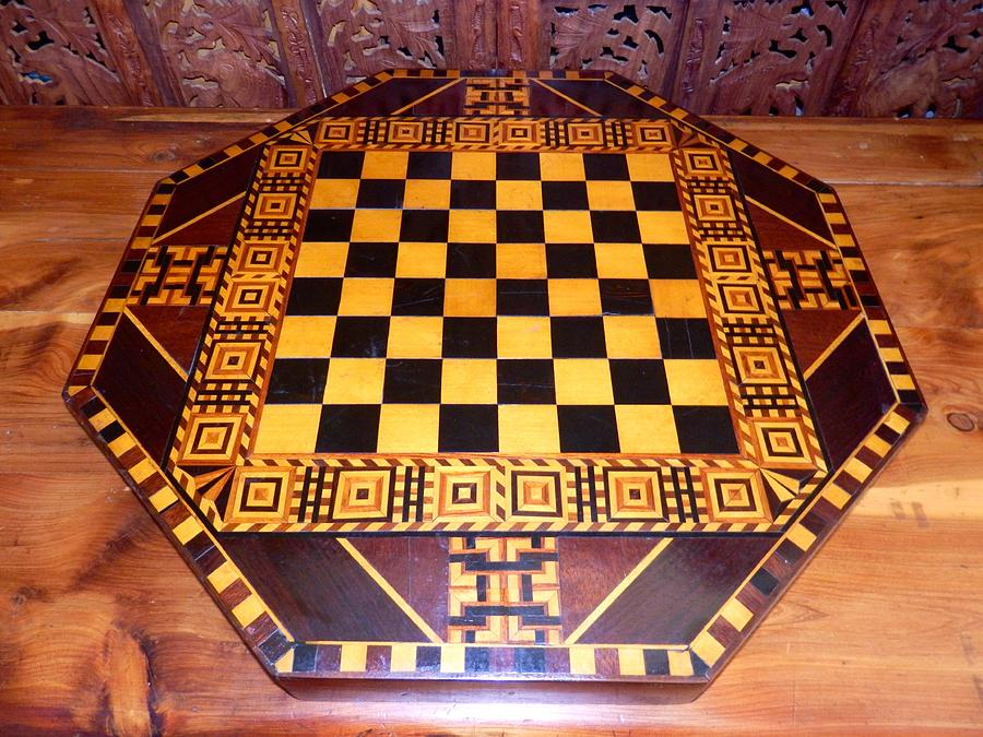 Vintage Checkerboard  by William McCoy