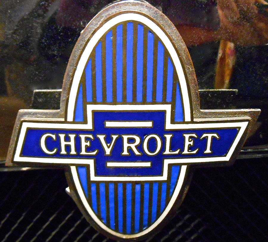 Vintage Chevrolet Logo Photograph By Joan Reese