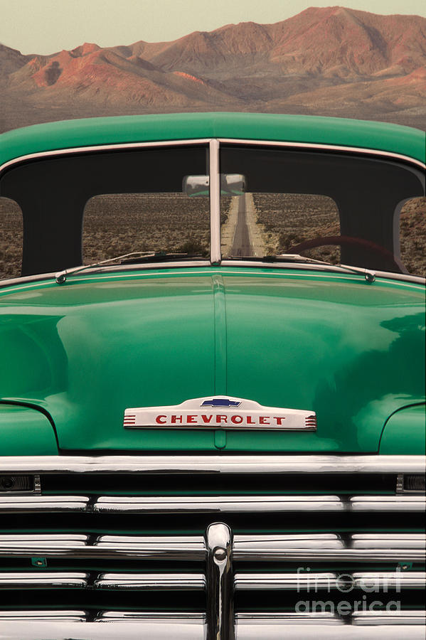 Transportation Photograph - Vintage Chevy Truck by Ron Sanford