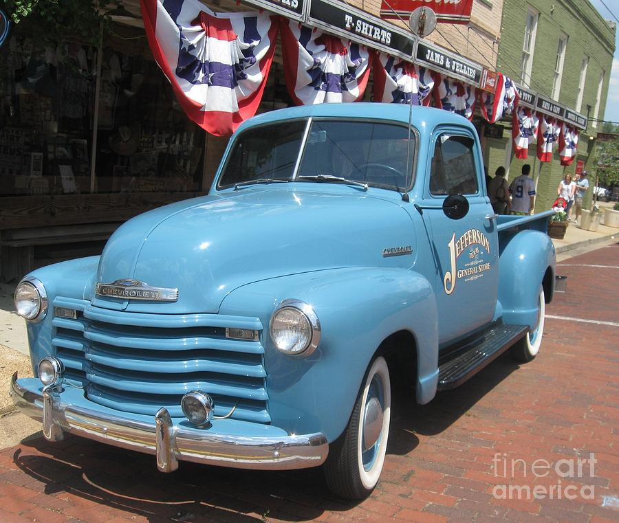 Vintage Chevy Truck Photograph by Venus