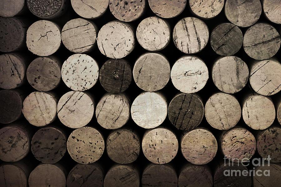 Alcohol Photograph - Vintage Corks by Jane Rix