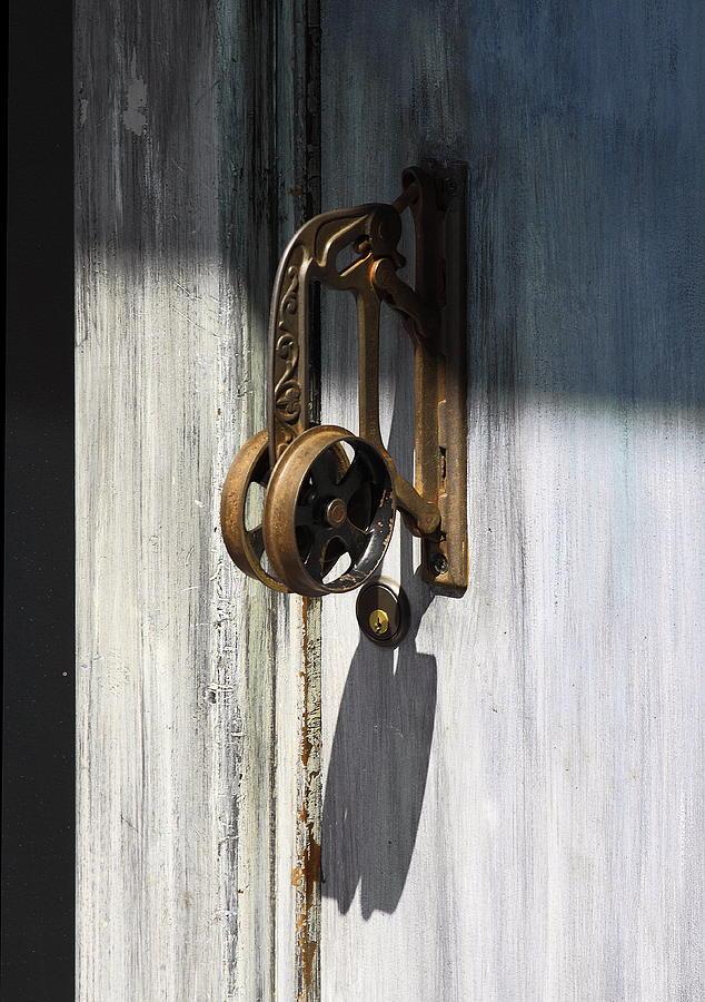 Vintage Door Handle Photograph - Vintage Door Handle by Viktor Savchenko