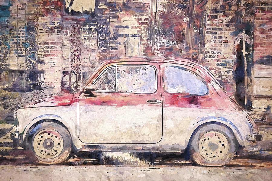 Vintage Fiat 500 Photograph